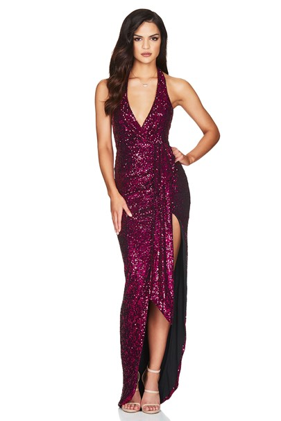 buy the latest Selena Halter Gown online