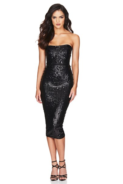 buy the latest Kylie Strapless Midi online
