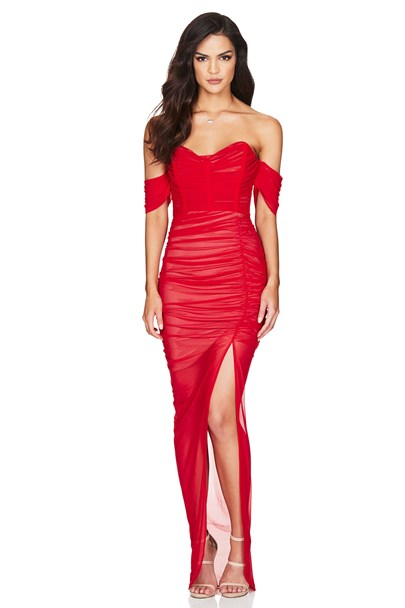 buy the latest Dita Mesh Gown online