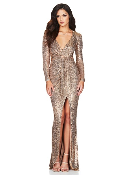 buy the latest Selena Long Sleeve Gown online