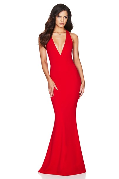 buy the latest Jasmine Halter Gown online