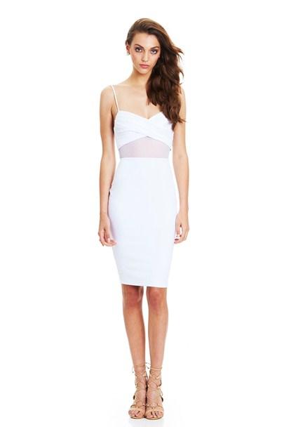 buy the latest Modern Muse Twist Bustier Dress online